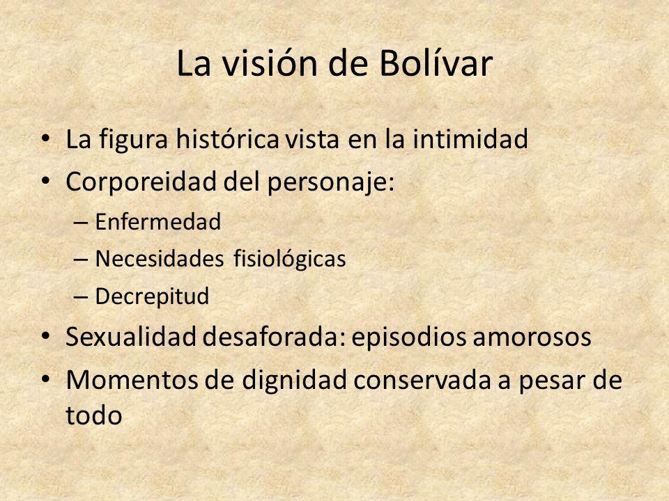 La visión de Bolívar La figura histórica vista en la intimidad
