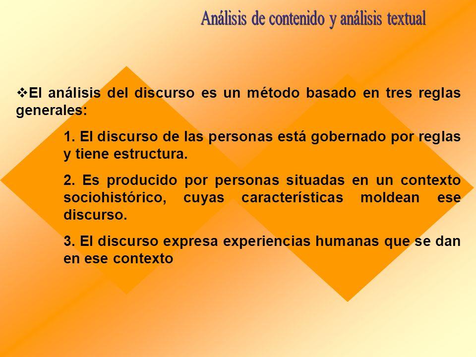 Análisis de contenido y análisis textual