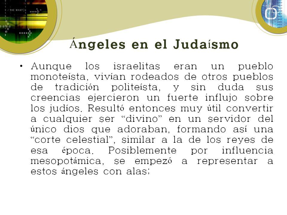 Ángeles en el Judaísmo