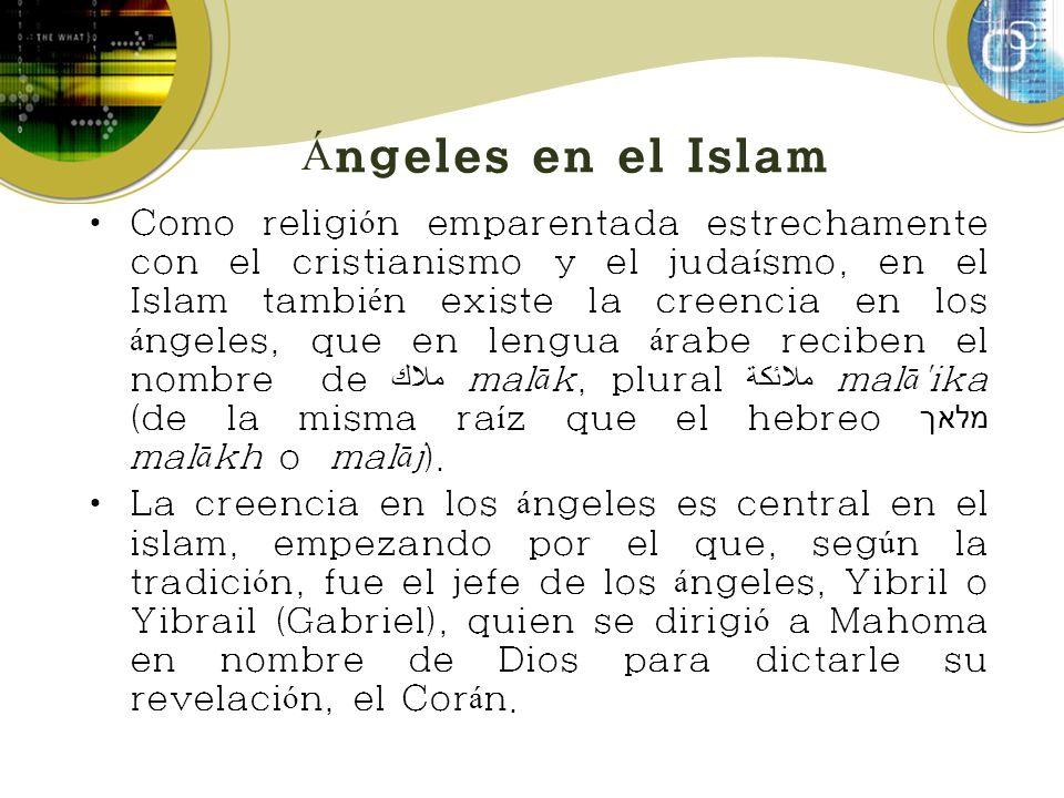 Ángeles en el Islam