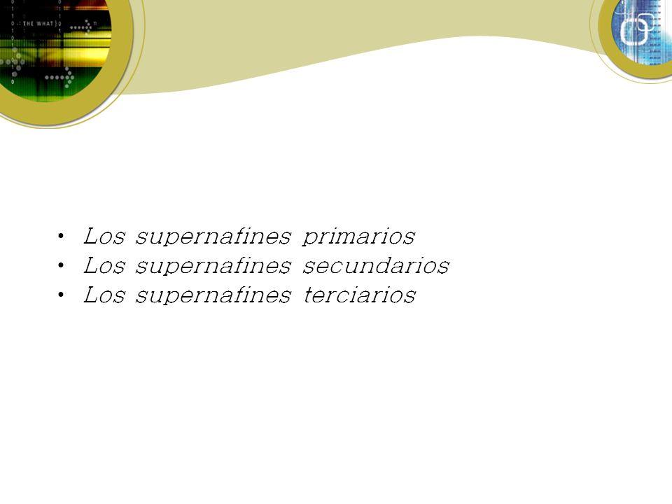Los supernafines primarios