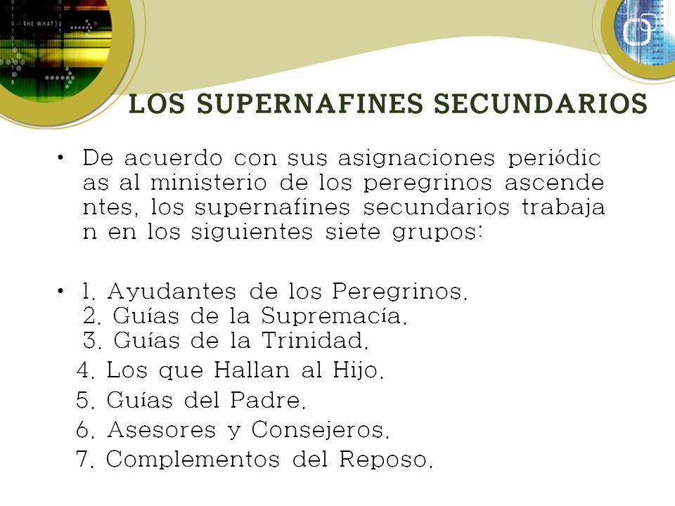 LOS SUPERNAFINES SECUNDARIOS