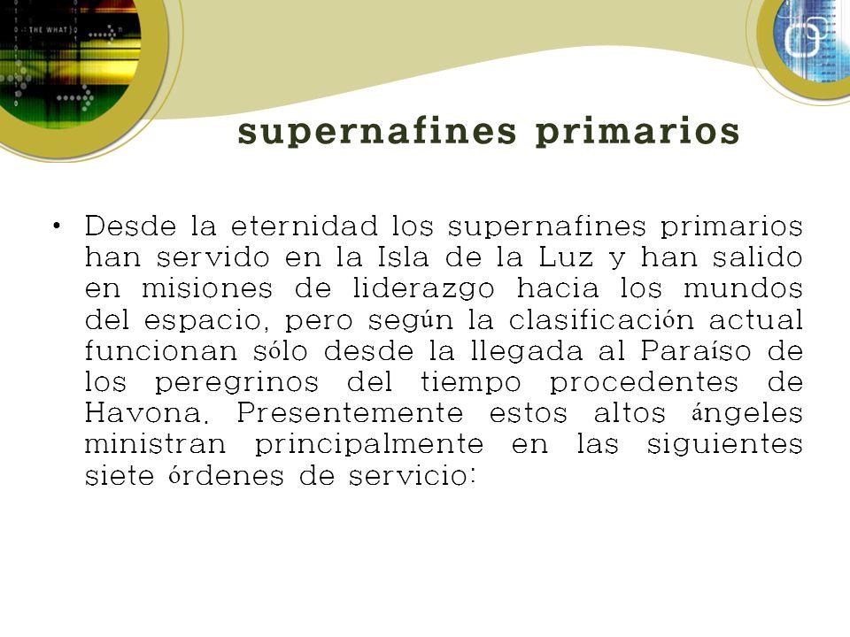 supernafines primarios