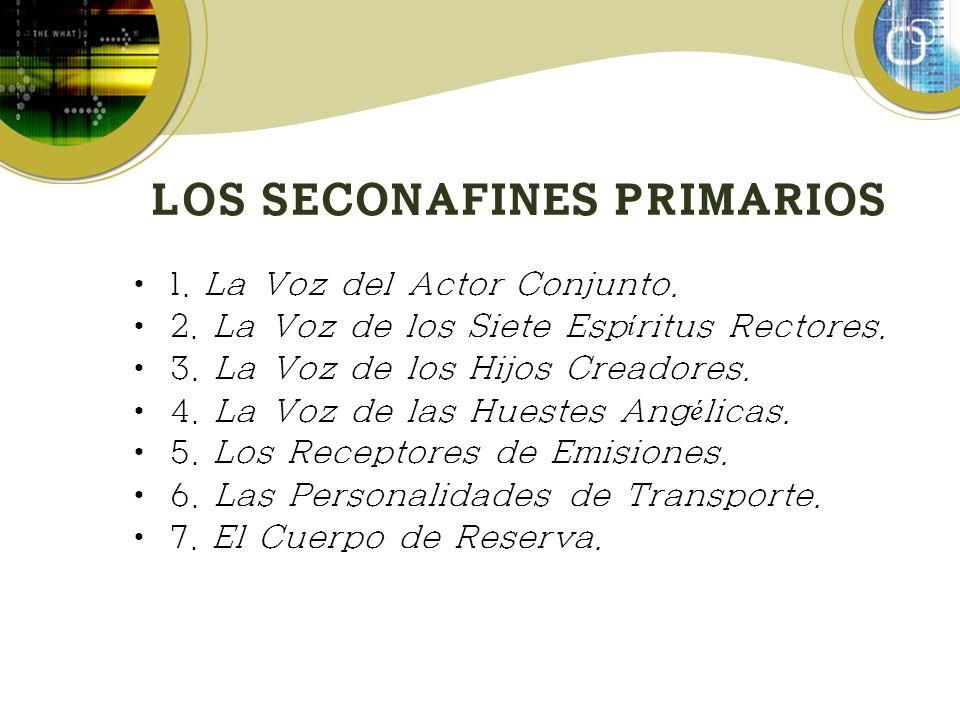 LOS SECONAFINES PRIMARIOS