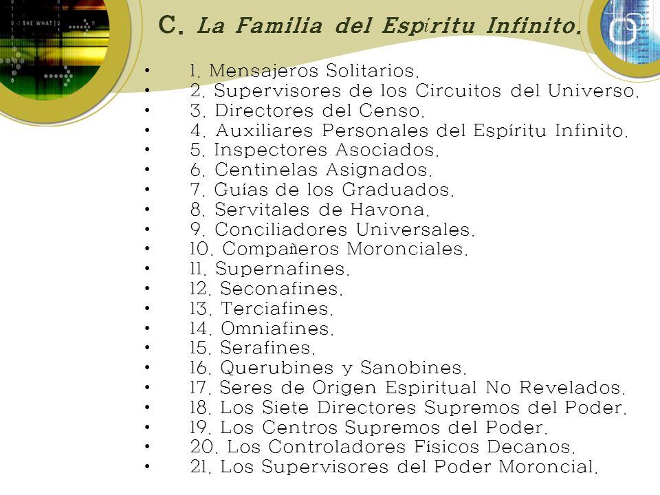 C. La Familia del Espíritu Infinito.