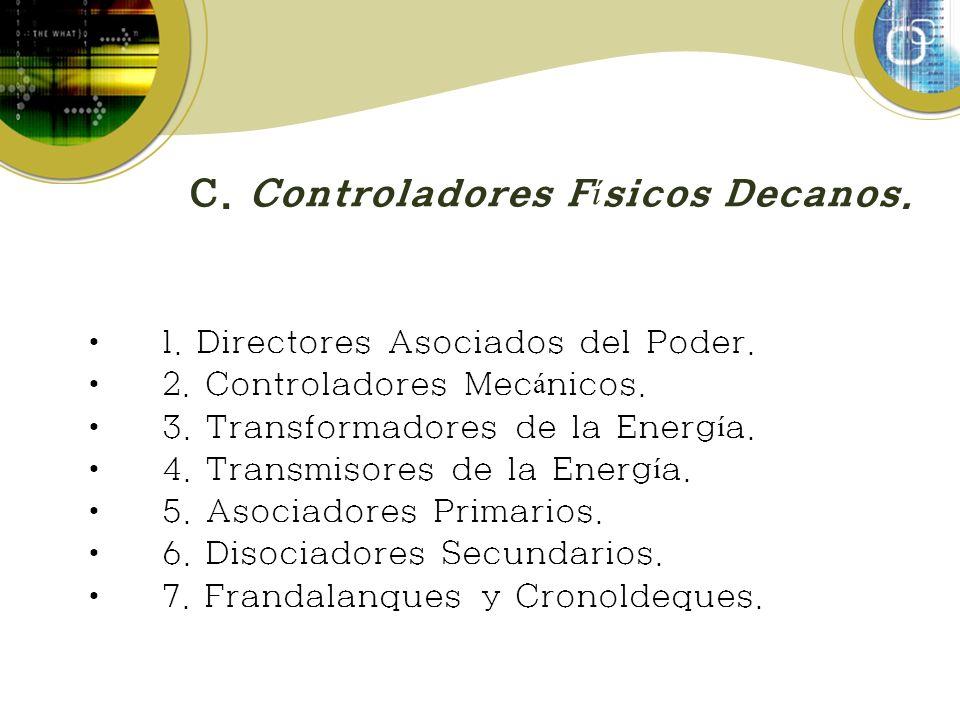 C. Controladores Físicos Decanos.