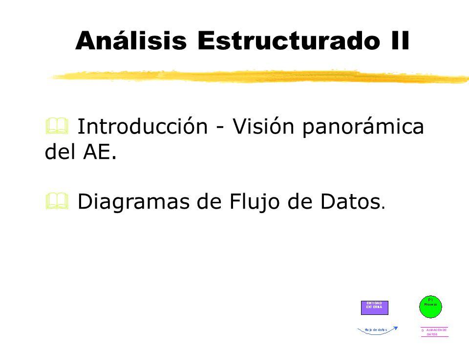 Análisis Estructurado II