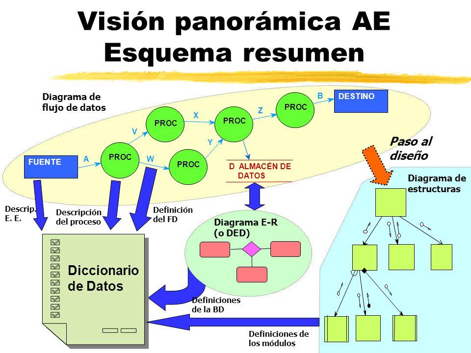 Visión panorámica AE Esquema resumen