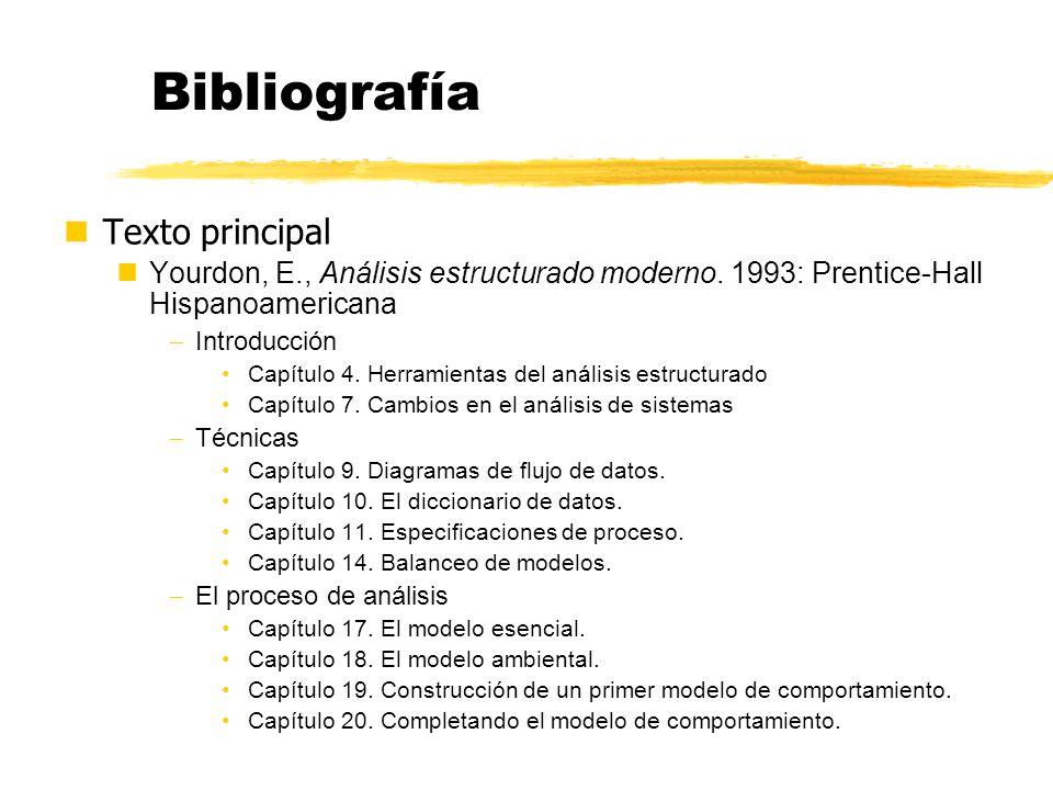 Bibliografía Texto principal