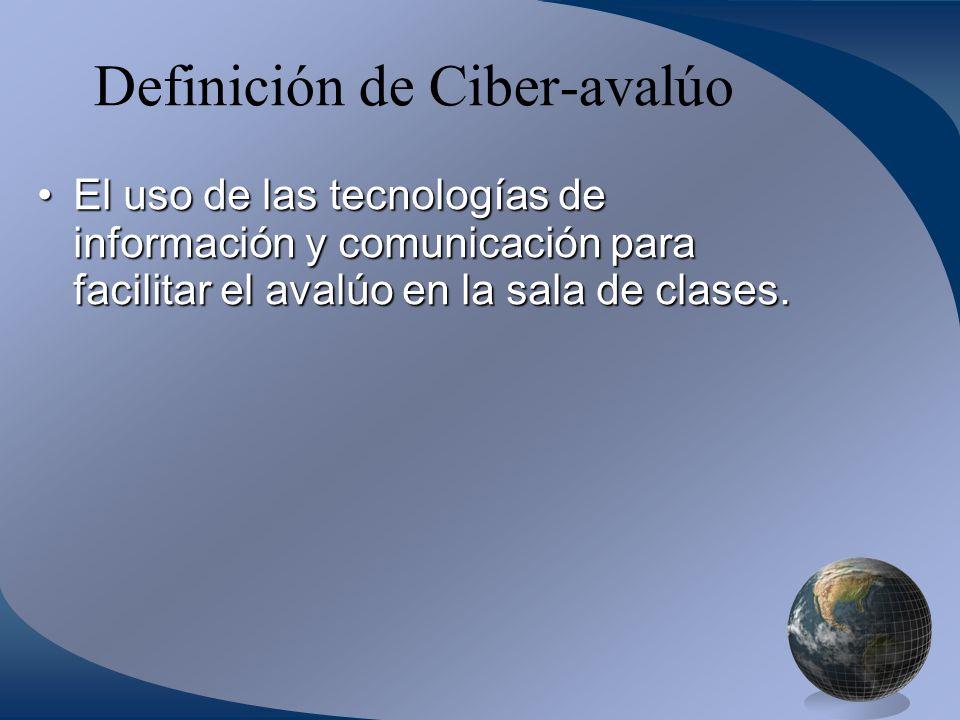 Definición de Ciber-avalúo