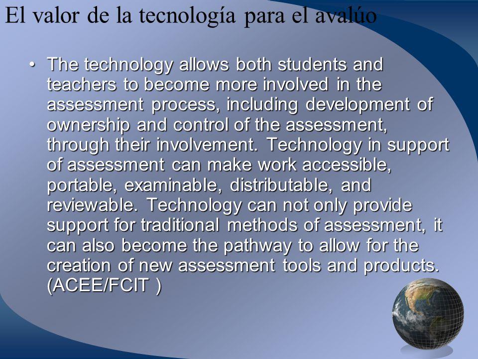 El valor de la tecnología para el avalúo