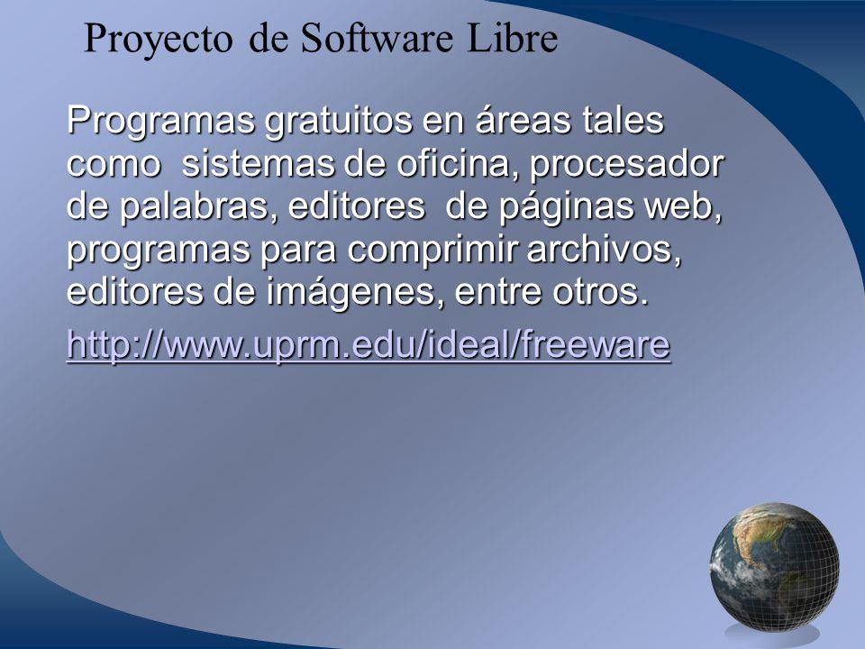 Proyecto de Software Libre