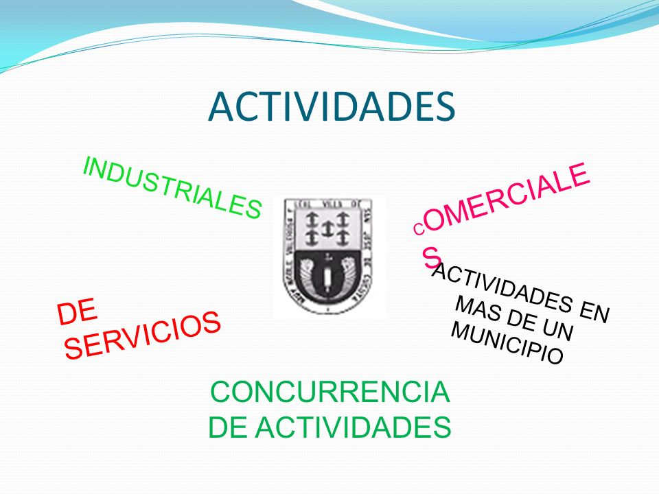 ACTIVIDADES DE SERVICIOS CONCURRENCIA DE ACTIVIDADES INDUSTRIALES
