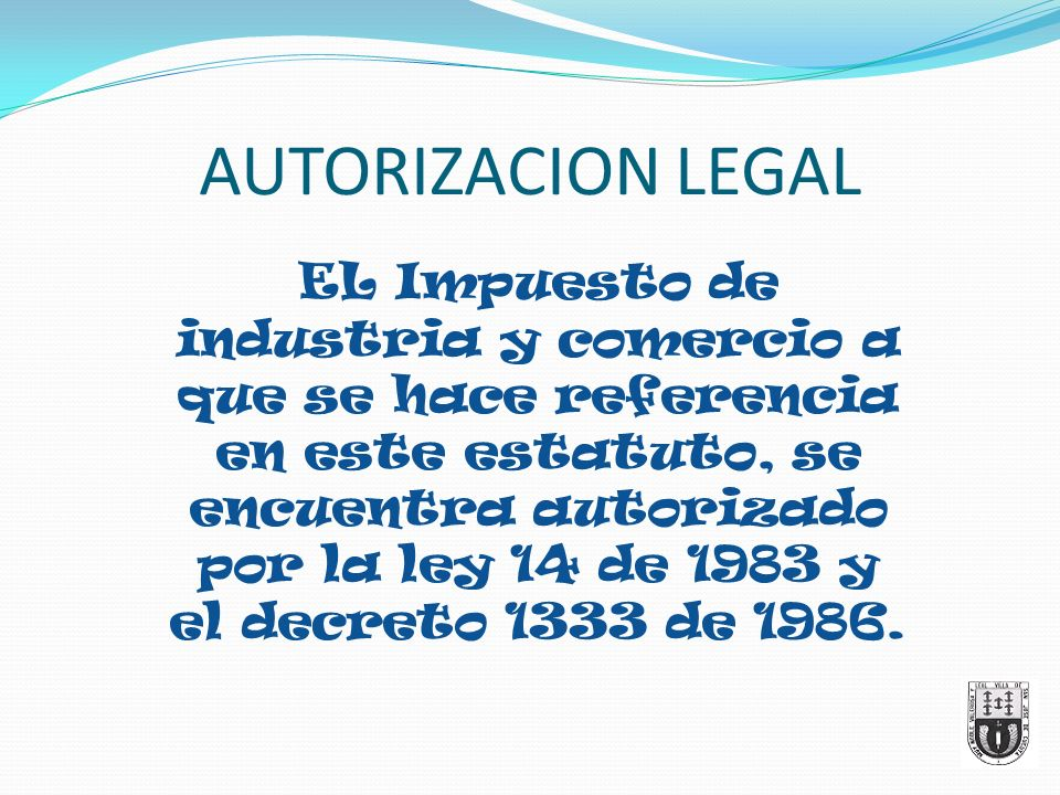 AUTORIZACION LEGAL