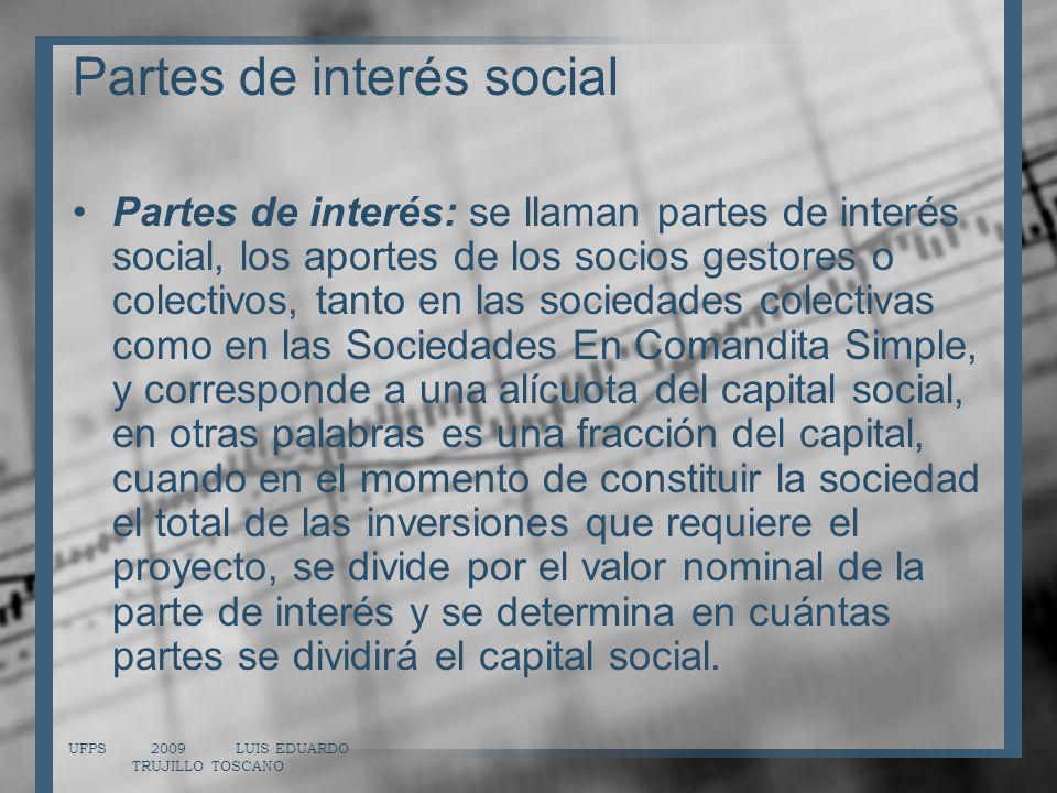 Partes de interés social