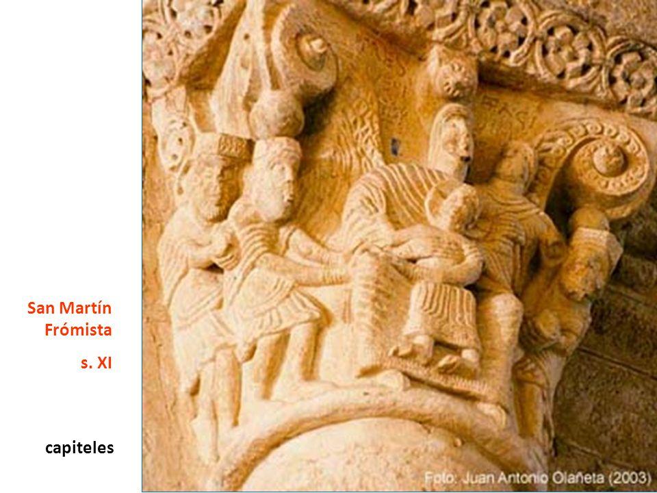 San Martín Frómista s. XI capiteles