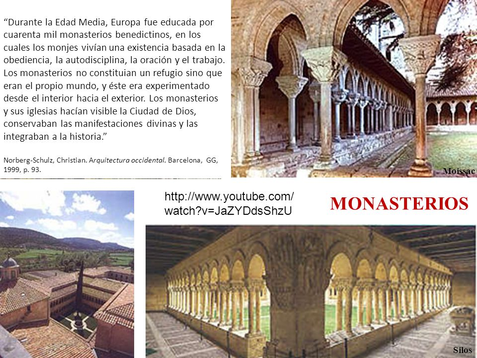 MONASTERIOS http://www.youtube.com/watch v=JaZYDdsShzU