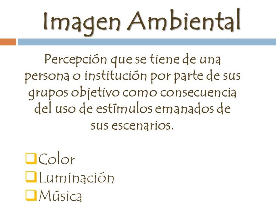 Imagen Ambiental Color Luminación Música Aroma