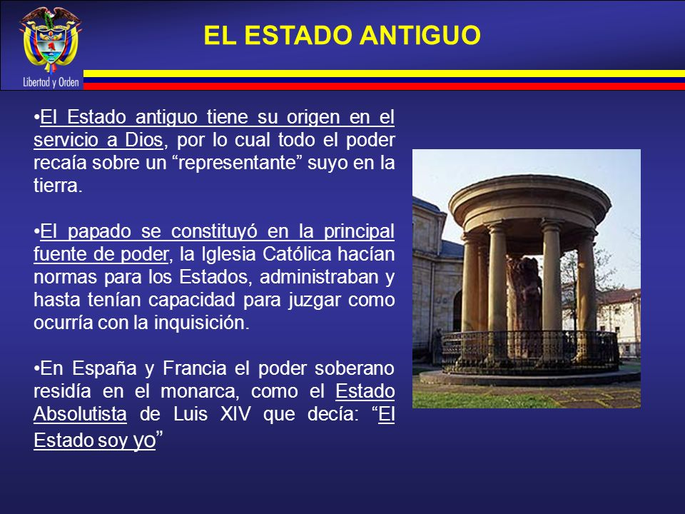 EL ESTADO ANTIGUO