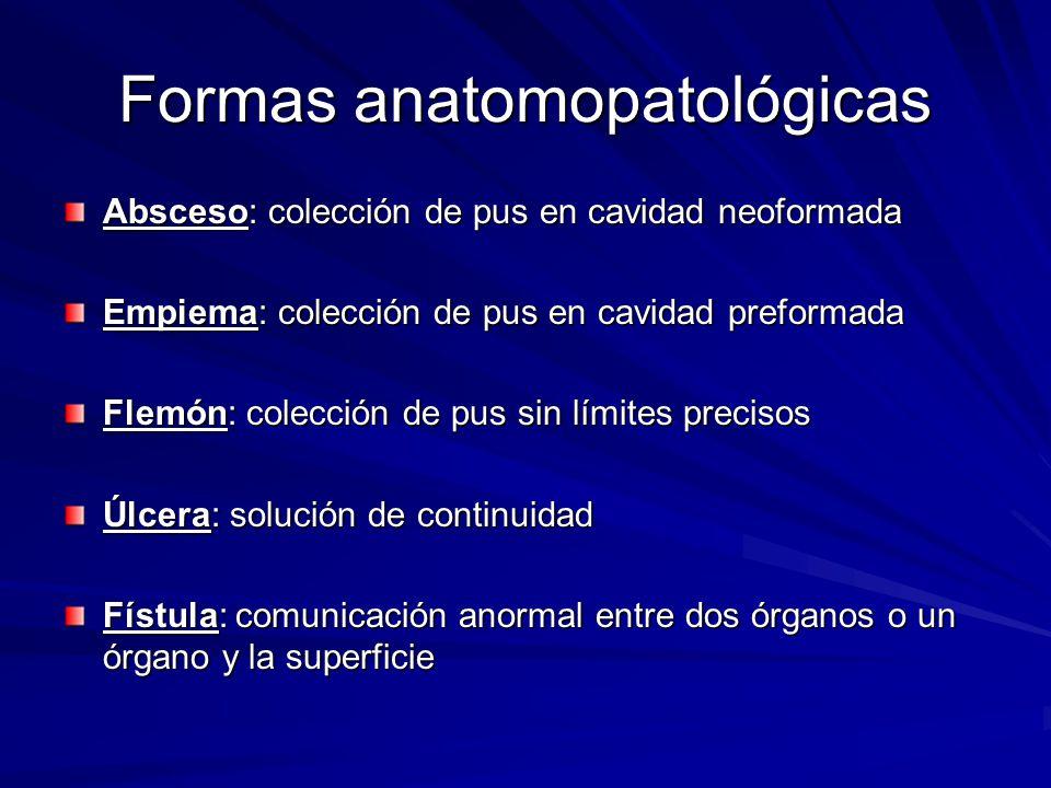 Formas anatomopatológicas