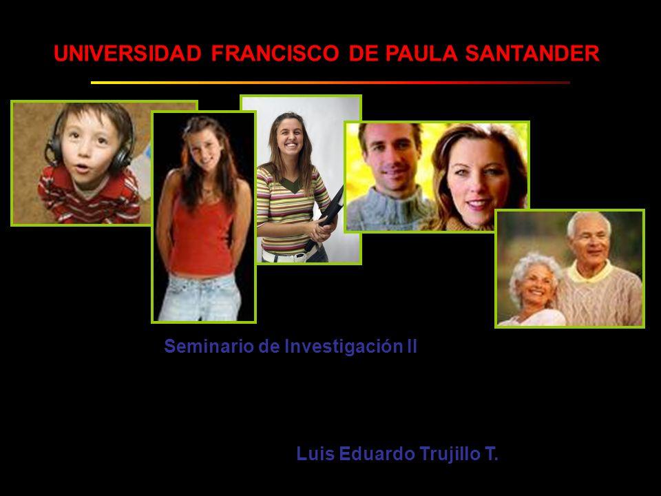 Seminario de Investigación II Luis Eduardo Trujillo T.