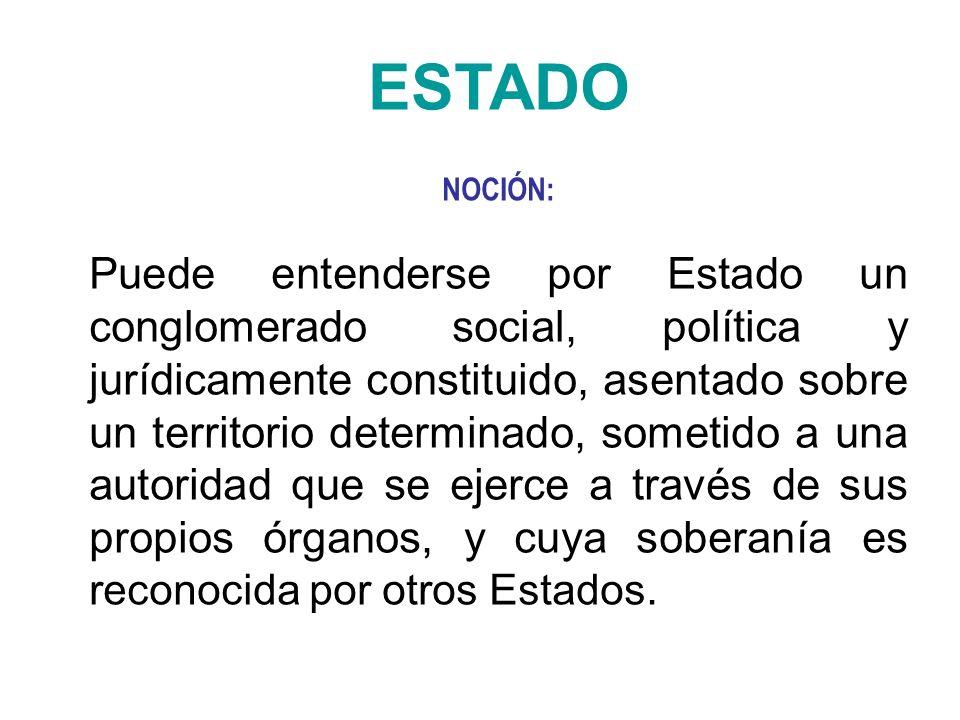 ESTADO NOCIÓN: