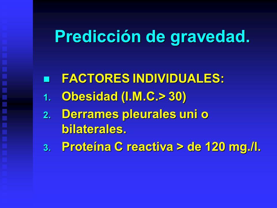 Predicción de gravedad.