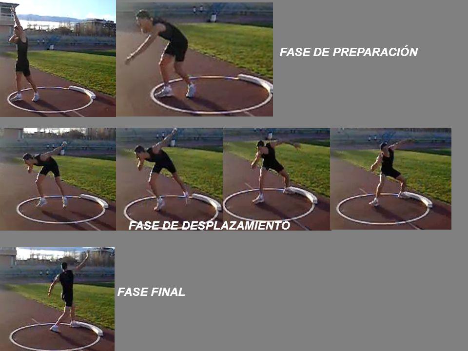 FASE DE PREPARACIÓN FASE DE DESPLAZAMIENTO FASE FINAL