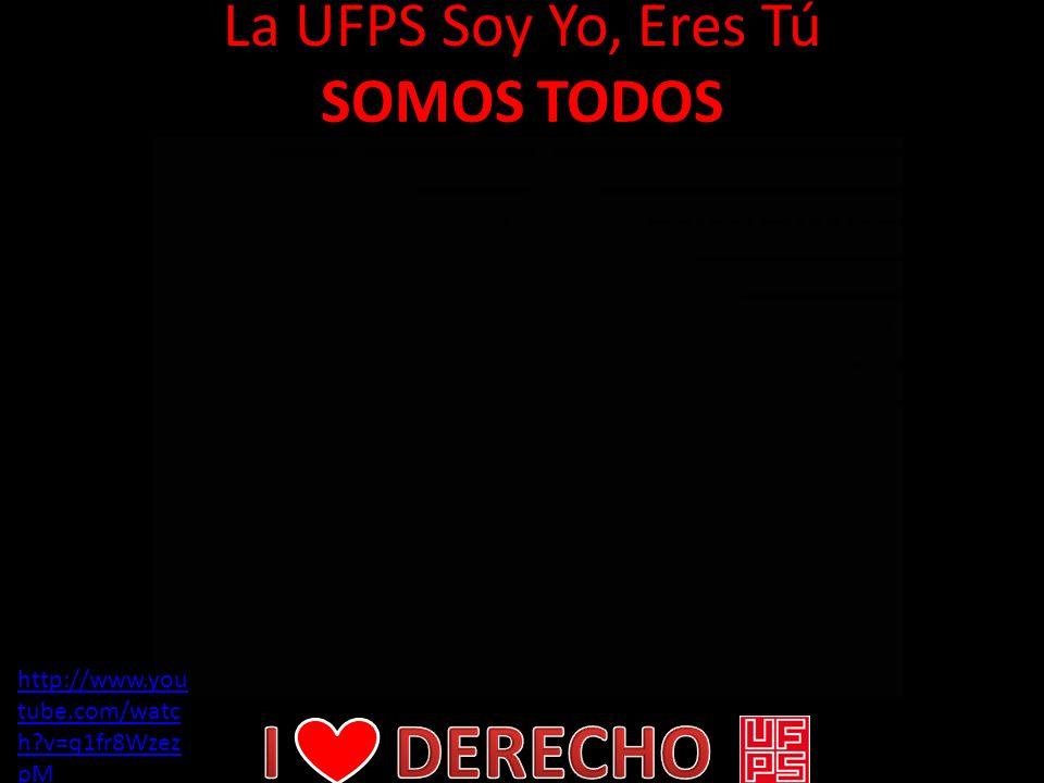 La UFPS Soy Yo, Eres Tú SOMOS TODOS