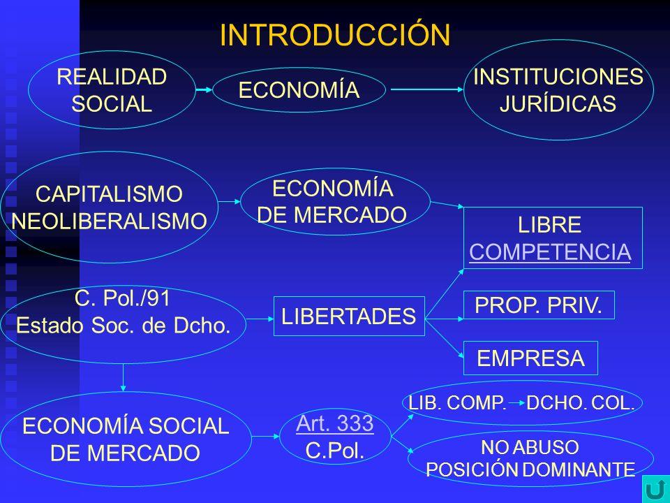 INTRODUCCIÓN INSTITUCIONES REALIDAD JURÍDICAS SOCIAL ECONOMÍA
