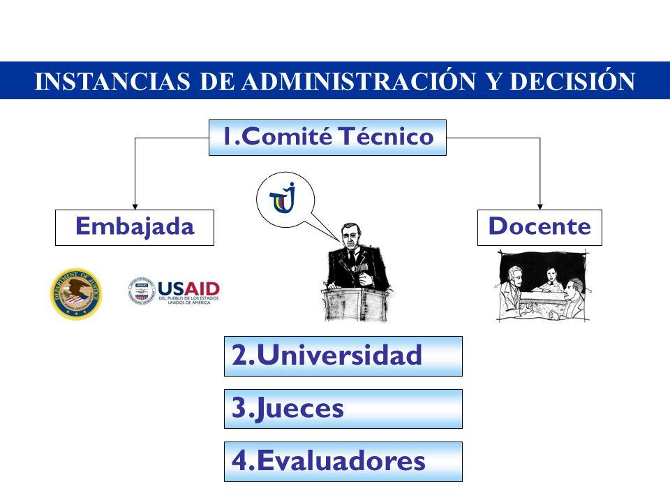 INSTANCIAS DE ADMINISTRACIÓN Y DECISIÓN
