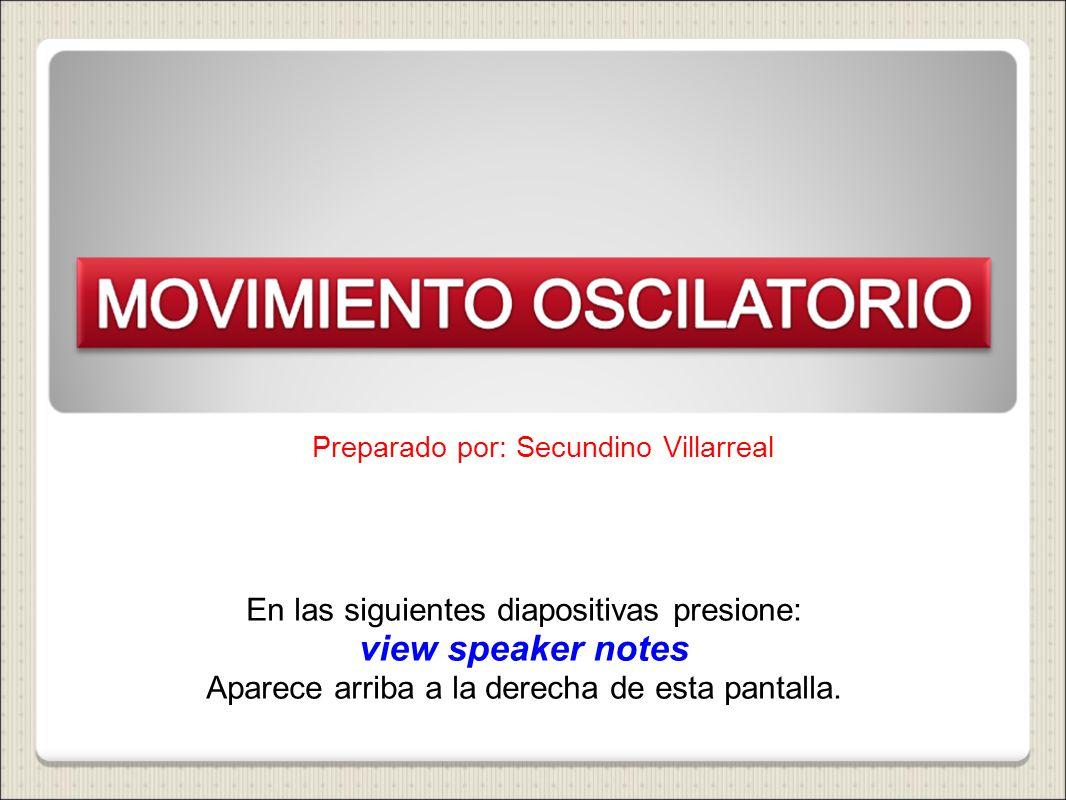 Preparado por: Secundino Villarreal