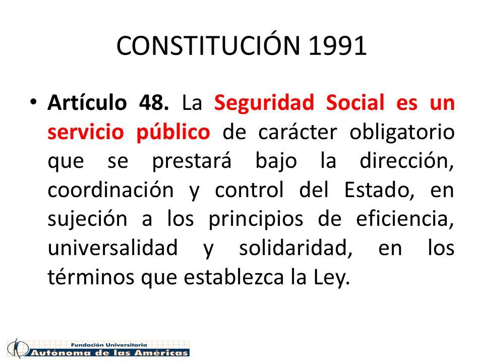 CONSTITUCIÓN 1991