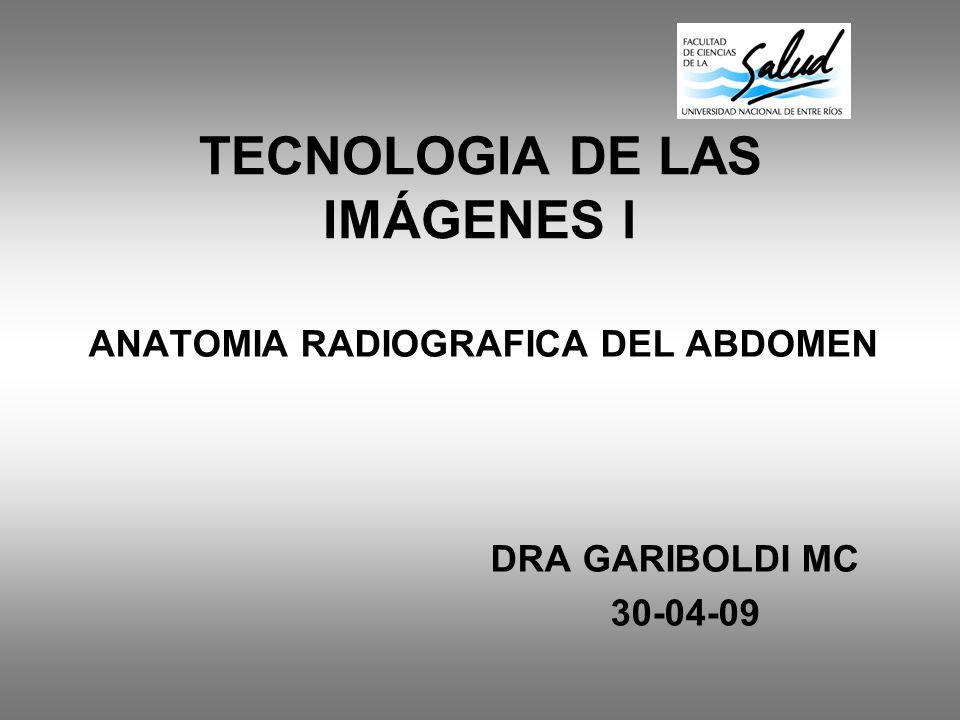 TECNOLOGIA DE LAS IMÁGENES l