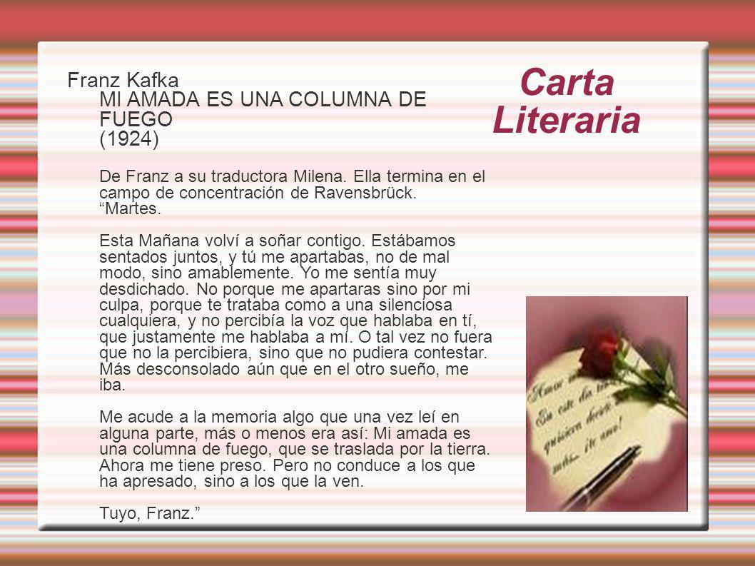 Carta Literaria