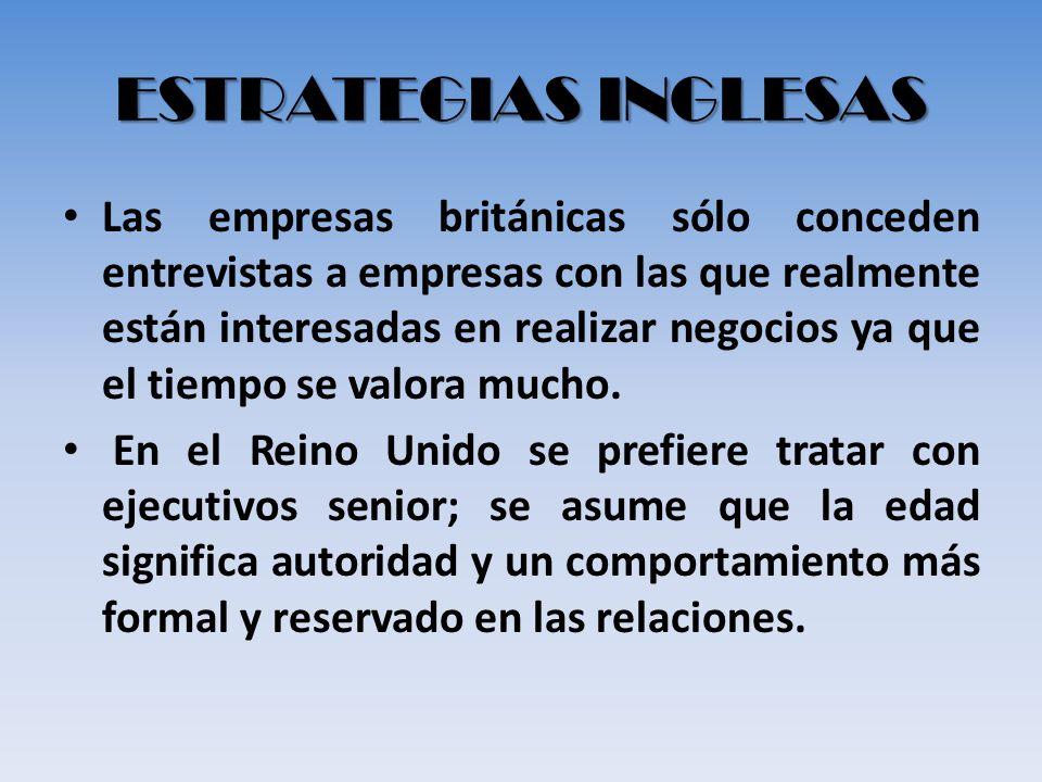 ESTRATEGIAS INGLESAS