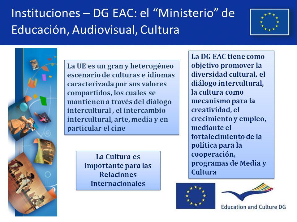 La Cultura es importante para las Relaciones Internacionales