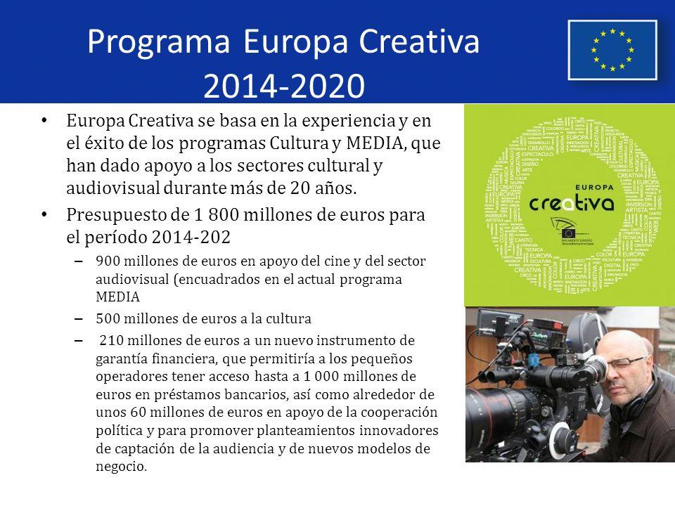 Programa Europa Creativa 2014-2020