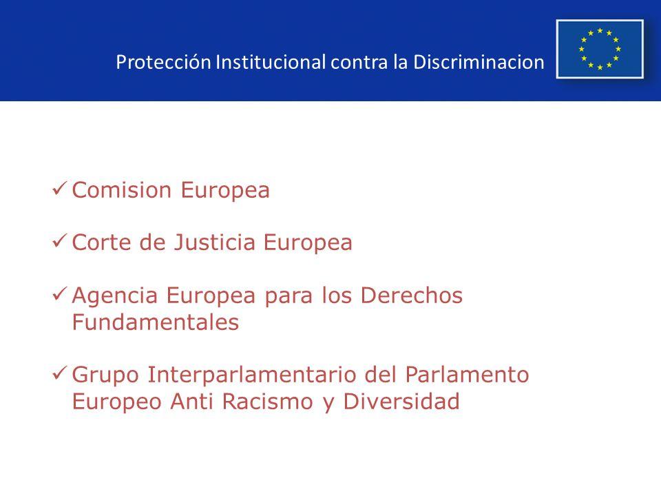 Protección Institucional contra la Discriminacion