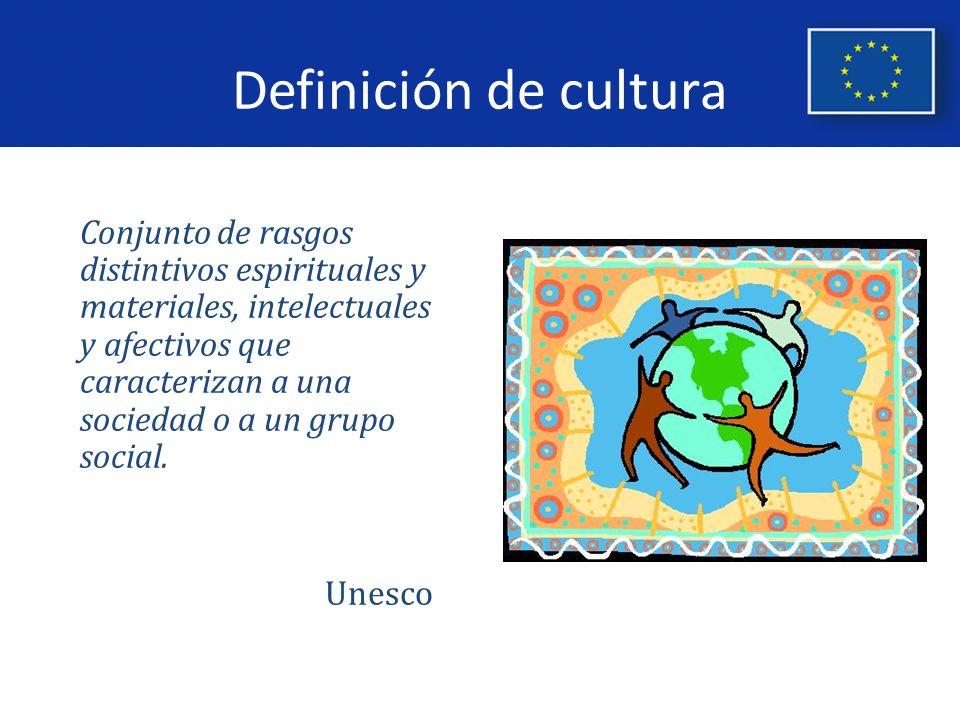 Definición de cultura