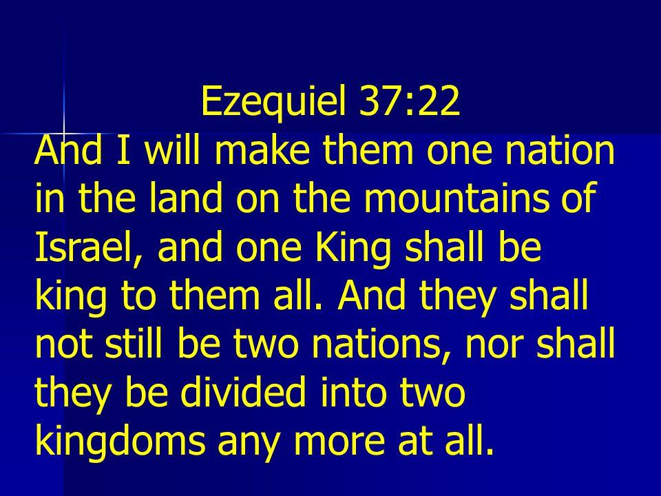Ezequiel 37:22