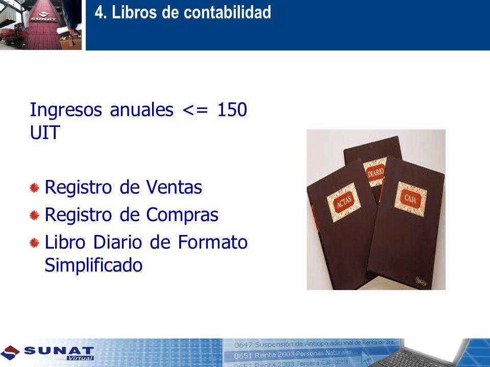 4. Libros de contabilidad
