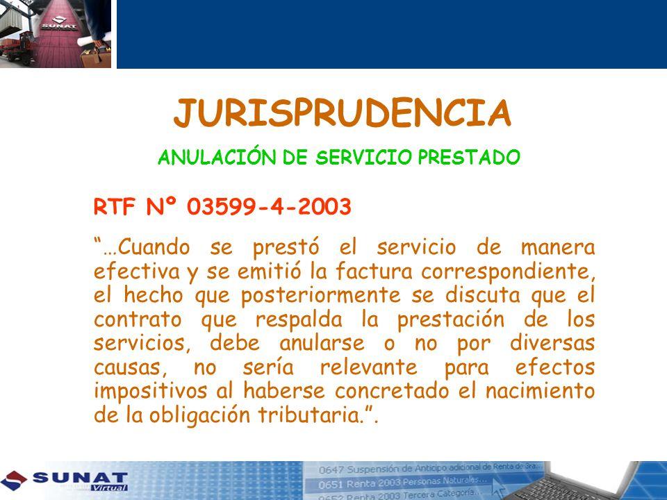 JURISPRUDENCIA RTF Nº 03599-4-2003