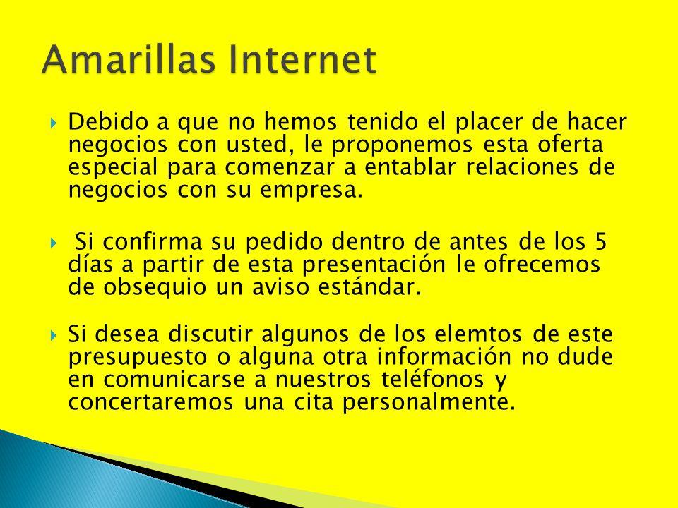 Amarillas Internet