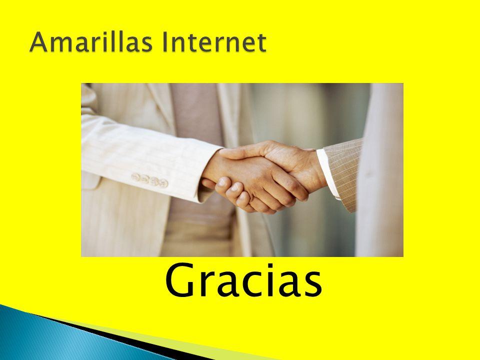 Amarillas Internet Gracias