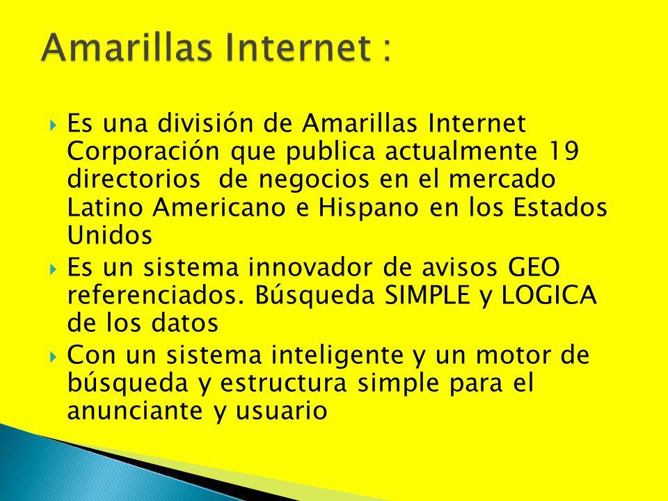 Amarillas Internet :