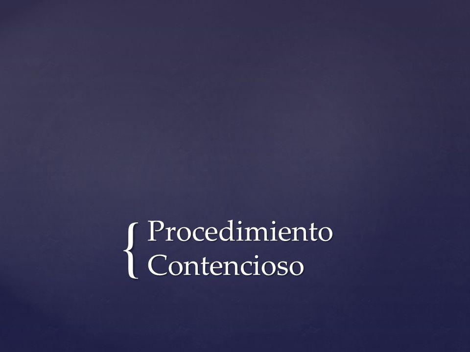 Procedimiento Contencioso
