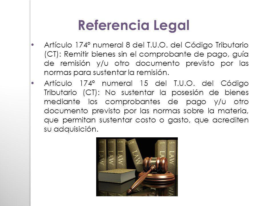 Referencia Legal