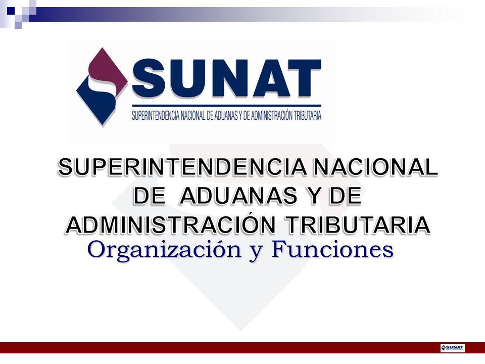 SUPERINTENDENCIA NACIONAL ADMINISTRACIÓN TRIBUTARIA