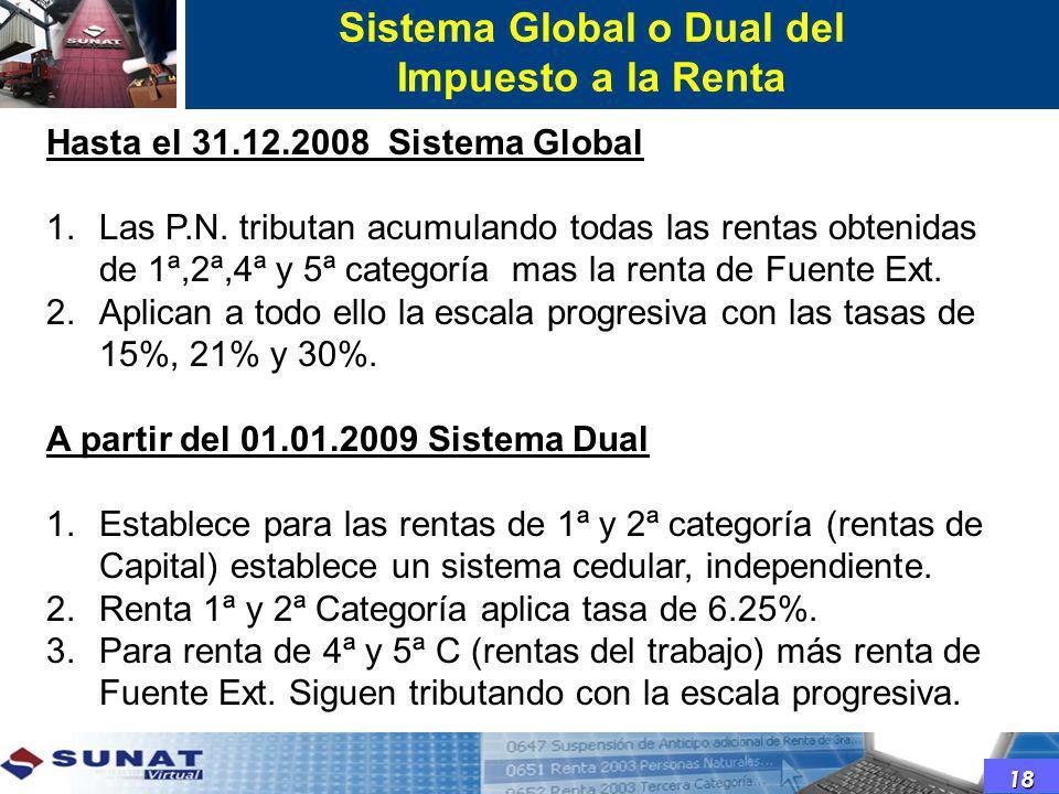 Sistema Global o Dual del